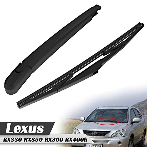 Rear Window Windshield Wiper Arm & Blade For Lexus RX330 RX350 RX300 RX400h 2004-2009 Replace#85241-0E010