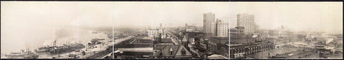 c1910 Panoram of Memphis, Tenn. 48