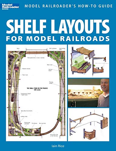 (Shelf Layouts for Model Railroads)