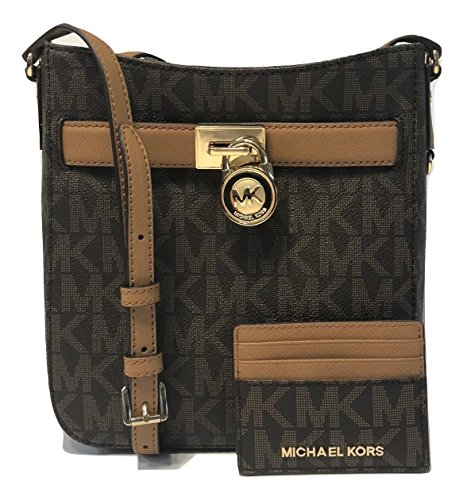 445dffa7ba35 MICHAEL Michael Kors Hamilton Traveler Crossbody bundle with Michael Kors  Jet Set Travel LG Card Case