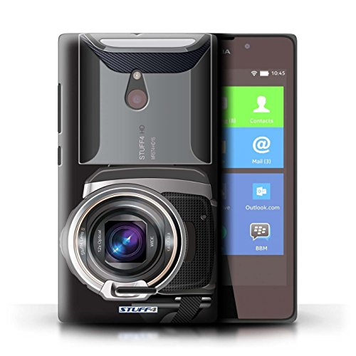 Kobalt® Imprimé Etui / Coque pour Nokia XL / Caméscope conception / Série Appareil Photo