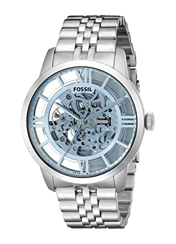 Fossil-Mens-ME3073-Analog-Townsman-Automatic-Self-Wind-Silver-Watch