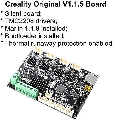 WSHZ Impresora 3D Actualiza Junta de Control de Motherboard v1.1.5 ...