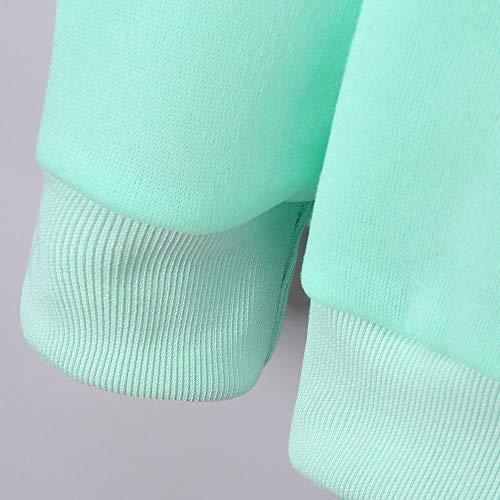 Veste Outwear Confortable Femmes Blouson Manteaux Automne Casual Sweatshirts Pour Hiver Nouvelle Élégant Pullover Vert Shobdw Capuche 2018 Mode Imprimé Tops 418q6f