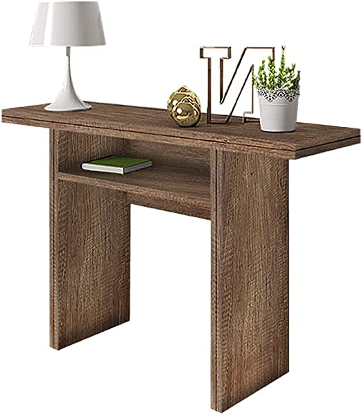 Italia - Console/Table d\'appoint/Table Extensible en chêne ...