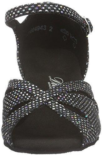 Danse Diamant Tanzschuhe Damen Chaussures 2 de 144 de Noir Salon 011 Femme 183 Brown 4g0qFw