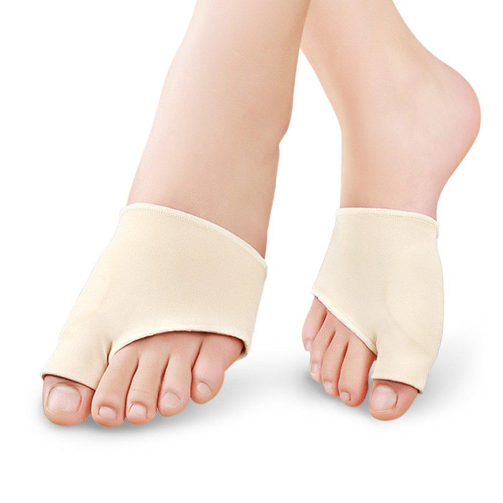 ULTNICE Pair of Hallux Valgus Correction Bunion Splints Toe Protector Size S