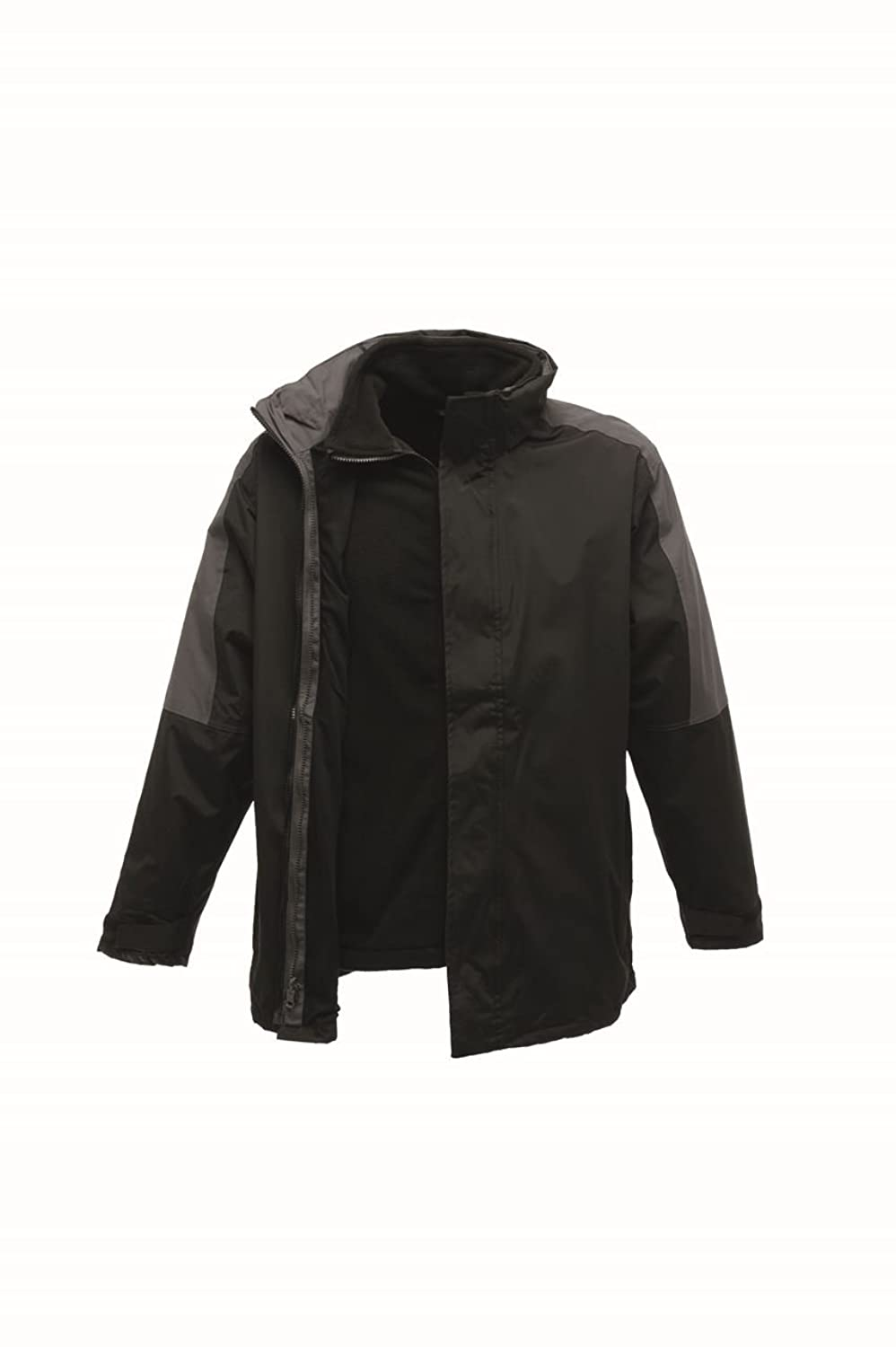 Regatta Defender III 3 in 1 Jacket Black/Seal Grey XL