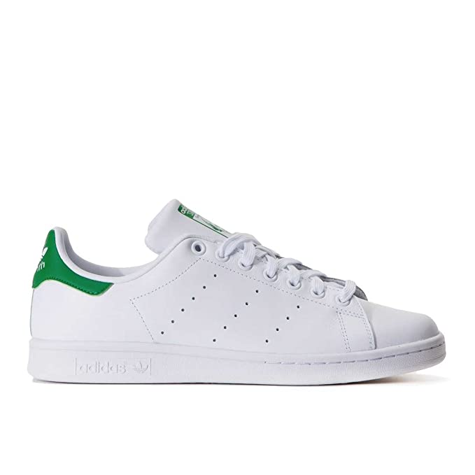 ADIDAS STAN SMITH SNEAKERS BIANCO VERDE M20324-2 - 39-1-3,