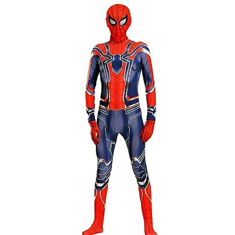 CAKGER Adultos Niños superhéroe Spiderman Disfraz de ...