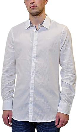 Guess - Camisa de hombre Art M93H20WBRC0, color foto, medida a elegir Foto M: Amazon.es: Ropa y accesorios