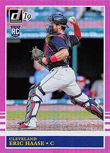 2019 Donruss Holo Pink Baseball #246 Eric Haase Cleveland for sale  Delivered anywhere in USA
