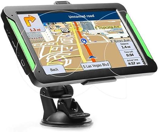 XMZWD 7 Pulgadas Sistema Android Pantalla Táctil Portátil, Navegador GPS Coche con Interconexión WiFi/Bluetooth/Control del Volante/Control De Voz/Imagen Inversa, GPS para Coches: Amazon.es: Hogar