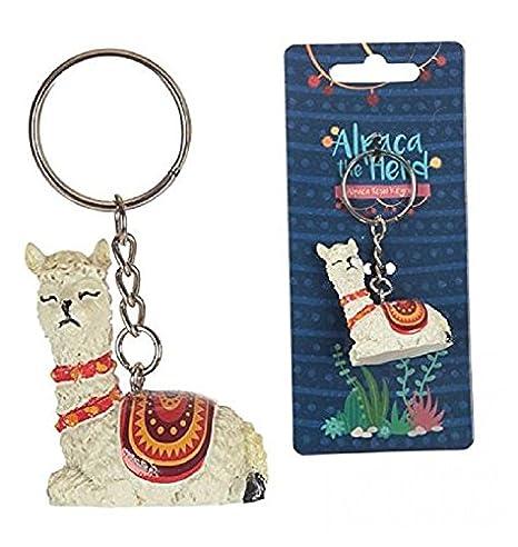 Llama Key Ring Keyring Alpaca Gift Accessory Keychain Iz3SYD