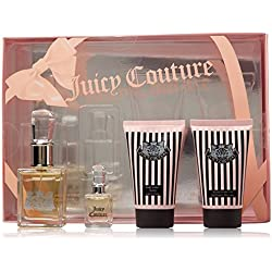 Juicy Couture 4 Piece Fragrance Value Set, 1.0 oz.