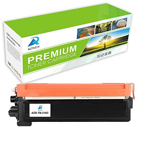 Aztech 1 Pack Replaces Brother TN-210Y TN210Y TN210 TN-210 Yellow Toner Cartridge For Brother HL-3040CN HL-3070CW HL-3045CN HL-3075CW MFC-9320CW MFC-9325CW Printer