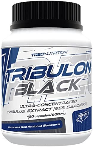 Trec Nutrition Tribulon Black Testosteronbooster Booster Trainingsbooster Supplement Bodybuilding 120 Kapseln