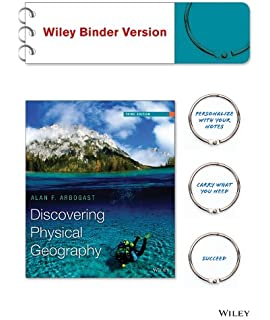 Discovering Physical Geography 3e Binder Ready Version WileyPLUS Learning Space Registration Card