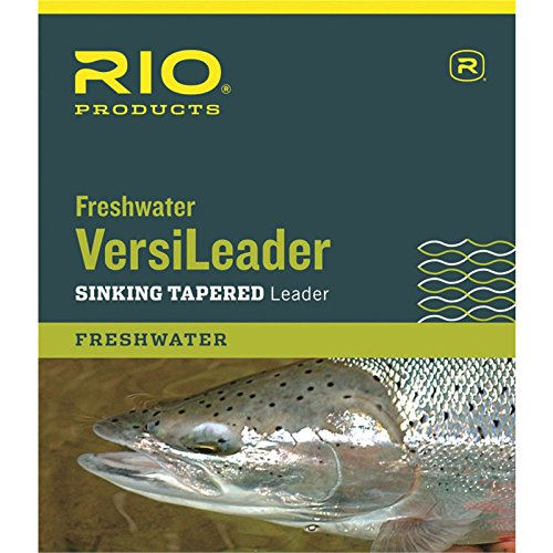 Rio Freshwater Versileader, Brown/Green Loop, 10ft 3ips