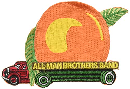 The Allman Brothers Peach Truck Rock Roll Music Band Embroidered Iron On ()