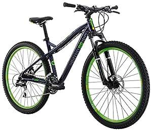 "Diamondback Bicycles 2016 Women's Lux Hard Tail Complete Mountain Bike, 27.5-Inch Wheels, Dark Blue, 15"" Frame"