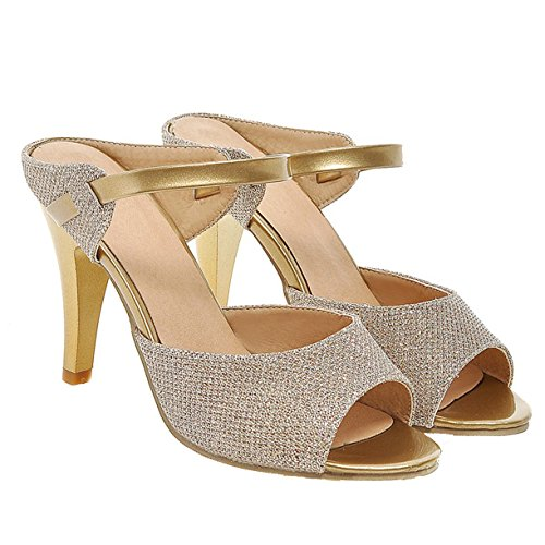 Or JYshoes Mules JYshoes Femme Femme Or JYshoes Femme Mules Mules Or JYshoes prwqT7p