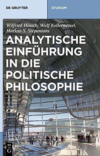 Ebook cover from Analytische Einführung in die politische Philosophie (De Gruyter Studium) (German Edition) by Wilfried Hinsch