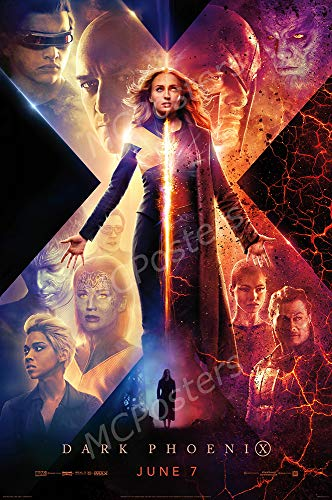 - MCPosters - Marvel Dark Phoenix X-Men Glossy Finish Movie Poster - MCP941 (24