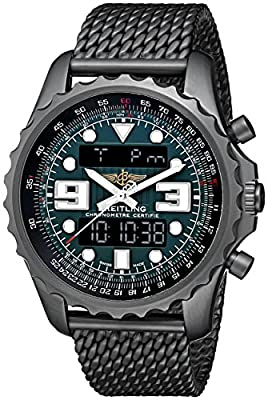 Breitling Men's M7836522-L521 Professional Chronospace Black Stainless Steel Quartz Watch