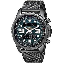 Breitling Men's M7836522-L521 Professional Chronospace Black Stainless Steel Quartz Watch