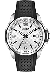 Citizen AW1150-07A AR Mens Watch Black 45mm Stainless Steel