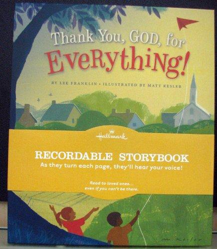 Hallmark Books - Hallmark Thank You God for Everything Recordable Book by Hallmark - KOB9008