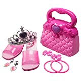 Princess Fashion Beauty Set For Girls With Purse Shoes And Accessories (10 PC Set)