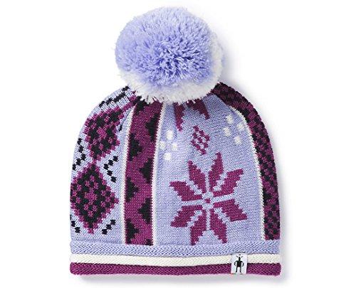 Smartwool Kids Girl's Snowflake Beanie (Little Kids/Big Kids) Purple Mist Heather L/XL