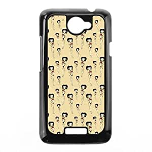 Betty Boop HTC One X Cell Phone Case Black ehz