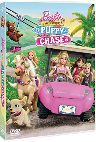 Barbie Y Sus Hermanas En Busca De Los Perritos Dvd Amazon Es Animación Amy Wolfram Animación Appa Productions Cine Y Series Tv