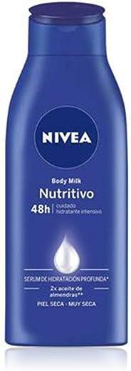 Nivea Body Crema Corporal Milk Nutritiva para Piel Extraseca, 400 ml