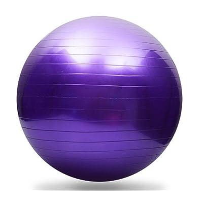 Nacome Yoga Ball,65cm Anti Burst & Pump Yoga Gymnastic Exercise Fitness Swiss Balance Ball,Perfect for Yoga Exercises