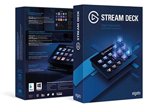 Elgato Stream Deck - Live Content Creation Controller with 15 customizable LCD keys, adjustable stand, for Windows 10 and macOS 10.11 or later by Corsair (Image #5)