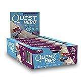 Quest Hero protein bar Blueberry Cobbler 600g