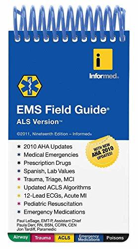 EMS Field Guide, ALS Version