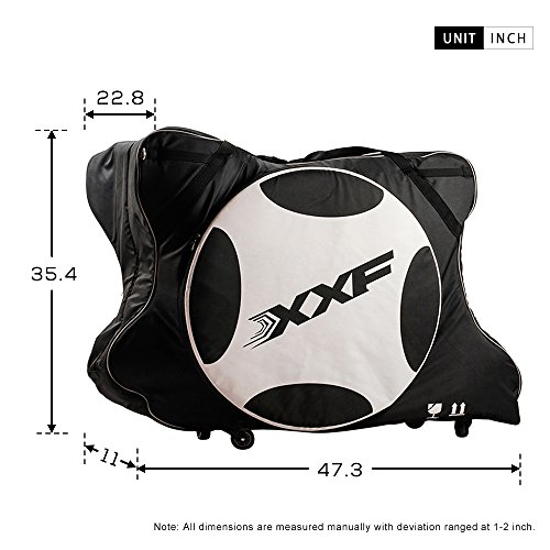 Muses Poem Road and Mountain Bike Travel Transport Bag Bicycle Carry Bag by bike case 002 (Image #2)