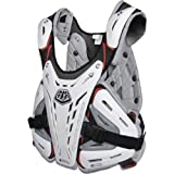 Troy Lee Designs CP 5900 Adult Roost Guard MX Motorcycle Body Armor - White / Large