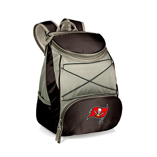 - NFL Tampa Bay Buccaneers PTX Insulated Backpack Cooler, Black