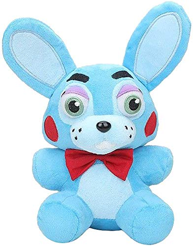 TOP Satisfied 7'' Five Nights at Freddy's FNAF 15-18cm TV Movie Horror Game Plush Dolls Horror Game Plushie Toy Lovely Gift (Blue Bonnie) by TOP Satisfied