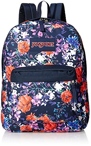 JanSport Superbreak Backpack- Sale Colors (Morning Bloom) by JanSport