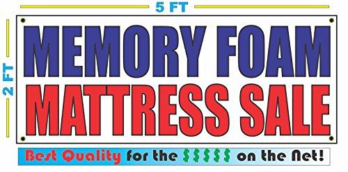 MEMORY FOAM MATTRESS SALE Banner sign