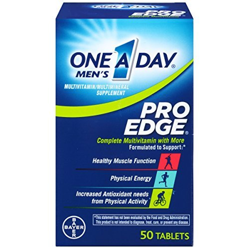 One-A-Day Men's Pro Edge Multivitamin 50-Count by One-A-Day