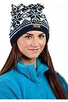 CacheAlaska Beanie Knit Cap Hand Knit Wool Ski Hat