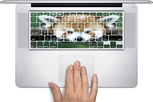 Red Panda Keyboard Decals by Sorem Designs for 11 inch MacBook Air